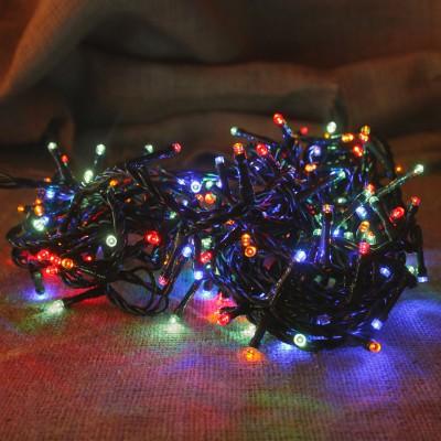 180LED Λαμπάκια Χριστουγεννιάτικα Πολύχρωμα με Πρόγραμμα