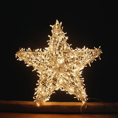 Μεγάλο Αστέρι 650L 50cm με Χριστουγεννιάτικα Λαμπάκια!