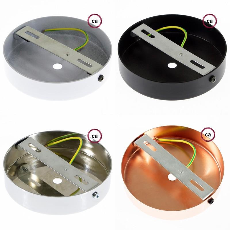 Κρεμαστό Φωτιστικό, Κρεμαστή Λάμπα με Γκρί Glitter Υφασμάτινο Καλώδιο RL03