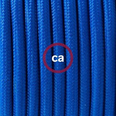 Κρεμαστό Πορσελάνης, με καλώδιο Υφασμάτινο Μπλε Ρεγιόν RM12
