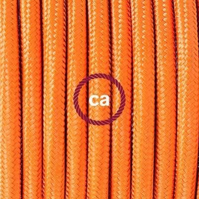 Κρεμαστό Πορσελάνης, με καλώδιο Υφασμάτινο Πορτοκαλί Ρεγιόν RM15