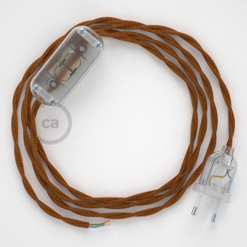 Στριφτό Υφασμάτινο Καλώδιο, Ουίσκι TM22- 1.80 m.