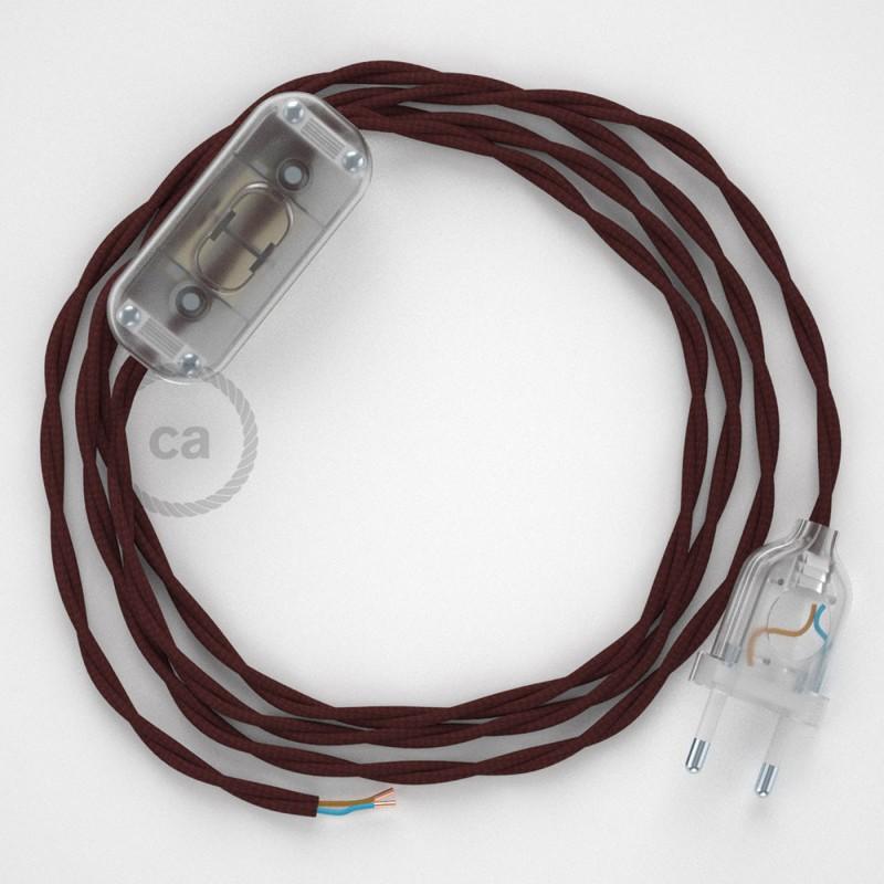Στριφτό Υφασμάτινο Καλώδιο, Μπορτνώ TM19 - 1.80 m.