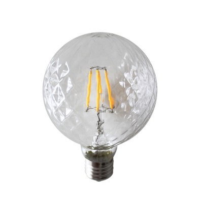 LED Filament 6W E27 Globe Dimmable
