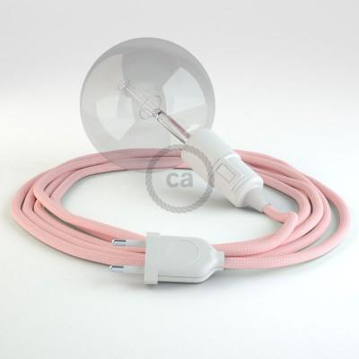 Δημιουργήστε το δικό σας Φωτιστικό Snake με καλώδιο RM16 Ροζ Ρεγιόν και κατευθύνετε το φως εκεί που θέλετε.