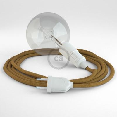 Δημιουργήστε το δικό σας Φωτιστικό Snake με καλώδιο RC31 Μουσταρδί Βαμβάκι και κατευθύνετε το φως εκεί που θέλετε.