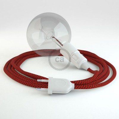 Δημιουργήστε το δικό σας Φωτιστικό Snake με καλώδιο RT94 Ρεγιόν Κόκκινη Λάβα και κατευθύνετε το φως εκεί που θέλετε.