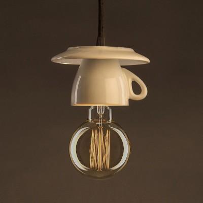 Διακοσμητικός Λαμπτήρας Edison, Γλόμπος G95 30W E27 Ίσιο νήμα Dimmable 2000K
