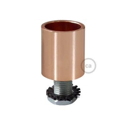 Εξάρτημα μεταλλικό χάλκινο για σωλήνα Creative-Tube 16 mm, περιλαμβάνονται εξαρτήματα