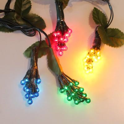 Σταφύλια Χριστουγεννιάτικα LED 2.5μ