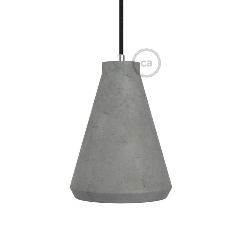 Τσιμεντένιο Φωτιστικό Imbuto Κρεμαστό με στήριγμα και ντουί Ε27 e77aa70a34d