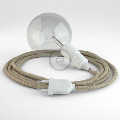 Δημιουργήστε το δικό σας Φωτιστικό Snake με καλώδιο RN01 Μπεζ Φυσικό και κατευθύνετε το φως εκεί που θέλετε.