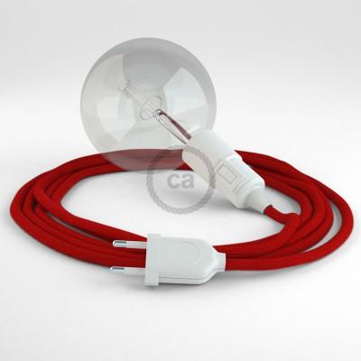 Δημιουργήστε το δικό σας Φωτιστικό Snake με καλώδιο RC35 Κόκκινο Βαμβάκι και κατευθύνετε το φως εκεί που θέλετε.
