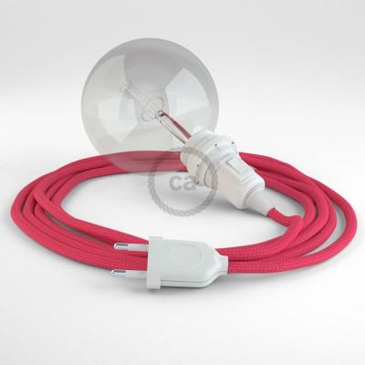 Δημιουργήστε το δικό σας Φωτιστικό Snake για αμπαζούρ με καλώδιο RM08 Φούξ Ρεγιόν.