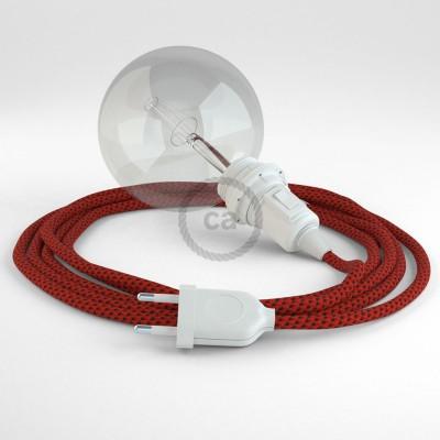 Δημιουργήστε το δικό σας Φωτιστικό Snake για αμπαζούρ με καλώδιο RT94 Ρεγιόν Κόκκινη Λάβα και κατευθύνετε το φως εκεί που θέλετε