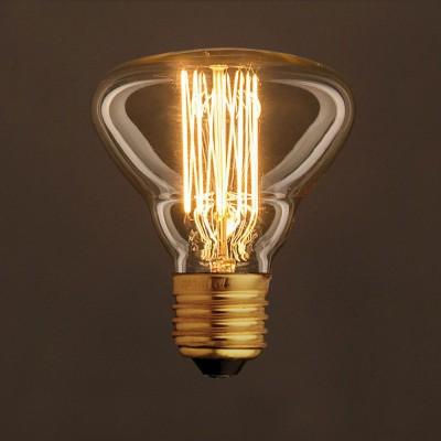 Διακοσμητικός Λαμπτήρας Edison, Διαμάντι BR95 25W E27 Ίσιο νήμα Dimmable 2000K