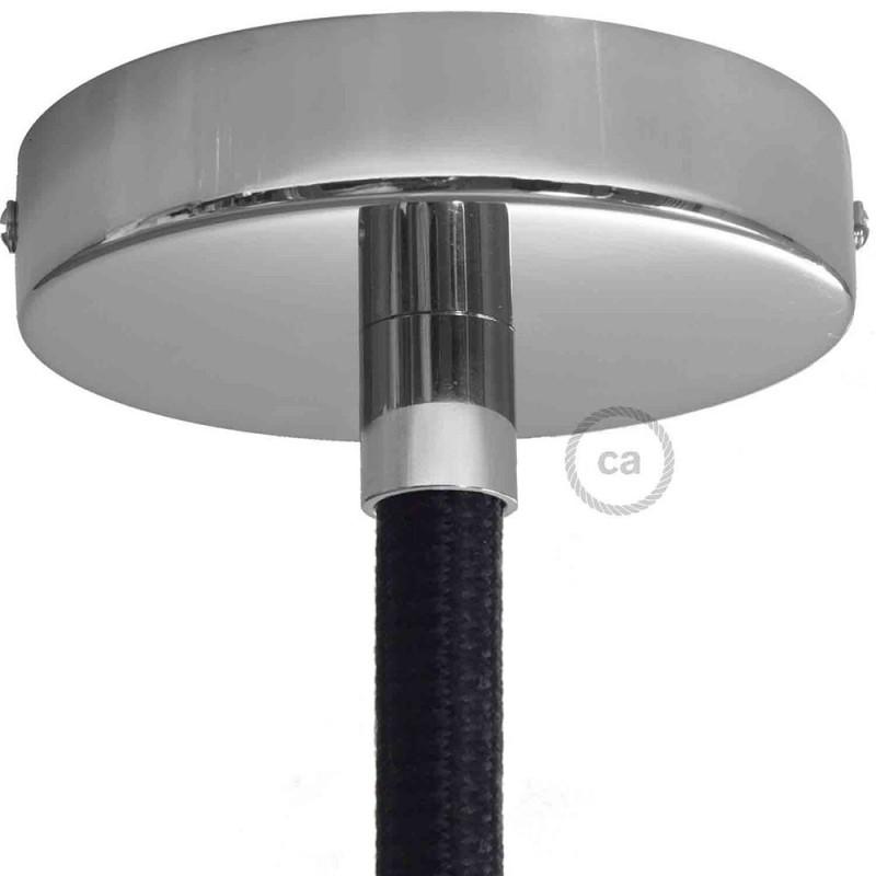 Εξάρτημα μεταλλικό χρώμιο για σωλήνα Creative-Tube 16 mm, περιλαμβάνονται εξαρτήματα