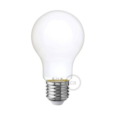 LED Λαμπτήρας Οπάλ Λευκό A60 Drop 6W E27 Dimmable 2700K