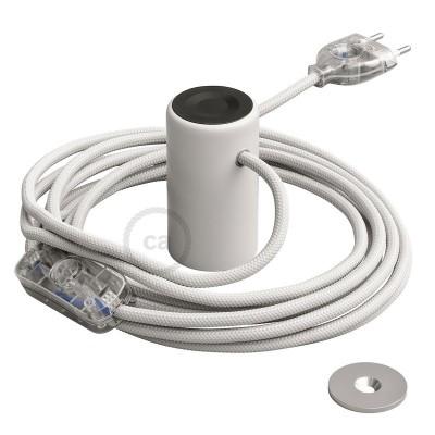 Μαγνητικό Ντουί Magnetico®-Plug Λευκό με διακόπτη, φις και καλώδιο, έτοιμο για χρήση