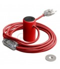 Μαγνητικό Ντουί Magnetico®-Plug Κόκκινο με διακόπτη, φις και καλώδιο, έτοιμο για χρήση