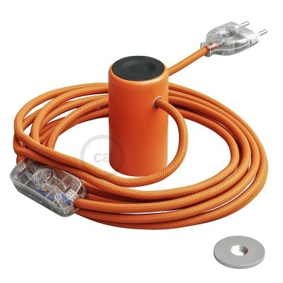 Μαγνητικό Ντουί Magnetico®-Plug Πορτοκαλί με διακόπτη, φις και καλώδιο, έτοιμο για χρήση