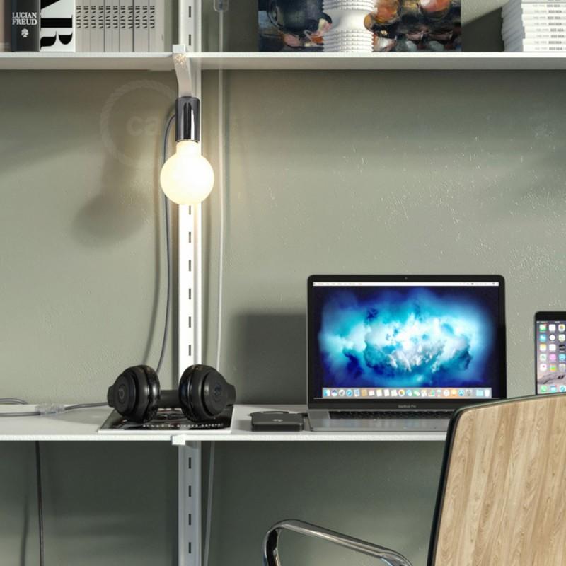 Μαγνητικό Ντουί Magnetico®-Plug Ανθρακί με διακόπτη, φις και καλώδιο, έτοιμο για χρήση