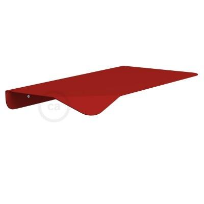 Ράφι Μεταλλικό Κόκκινο Magnetico®-Shelf, για ντουί Magnetico®-Plug