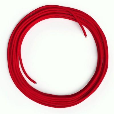 LAN - Ethernet Υφασμάτινο Καλώδιο Cat 5e RM09 Κόκκινο χωρίς βύσματα RJ45