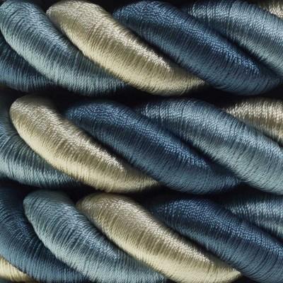 Καλώδιο Σχοινί - Τριχιά 2XL, καλώδιο 3x0,75 καλυμμένο με ύφασμα Bernadotte - Διάμετρος 24 mm