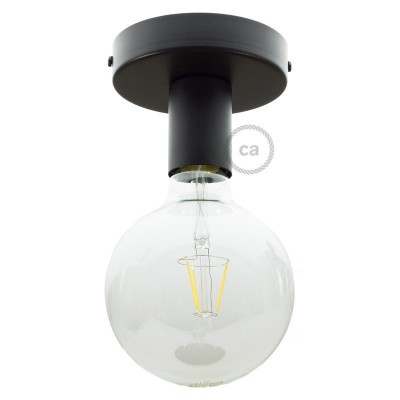 Φωτιστικό Τοίχου ή Οροφής Fermaluce Monochrome, μεταλλικό
