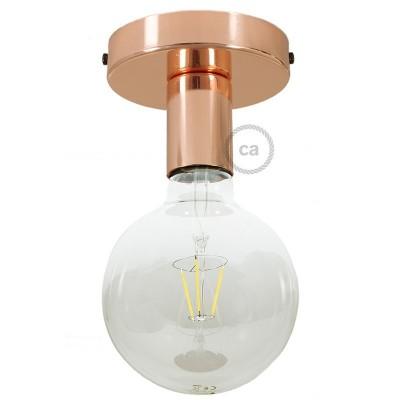 Φωτιστικό Τοίχου ή Οροφής Fermaluce Glam, μεταλλικό