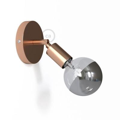 Φωτιστικό Τοίχου ή Οροφής Fermaluce Glam 90° Monochrome, κινητό μεταλλικό