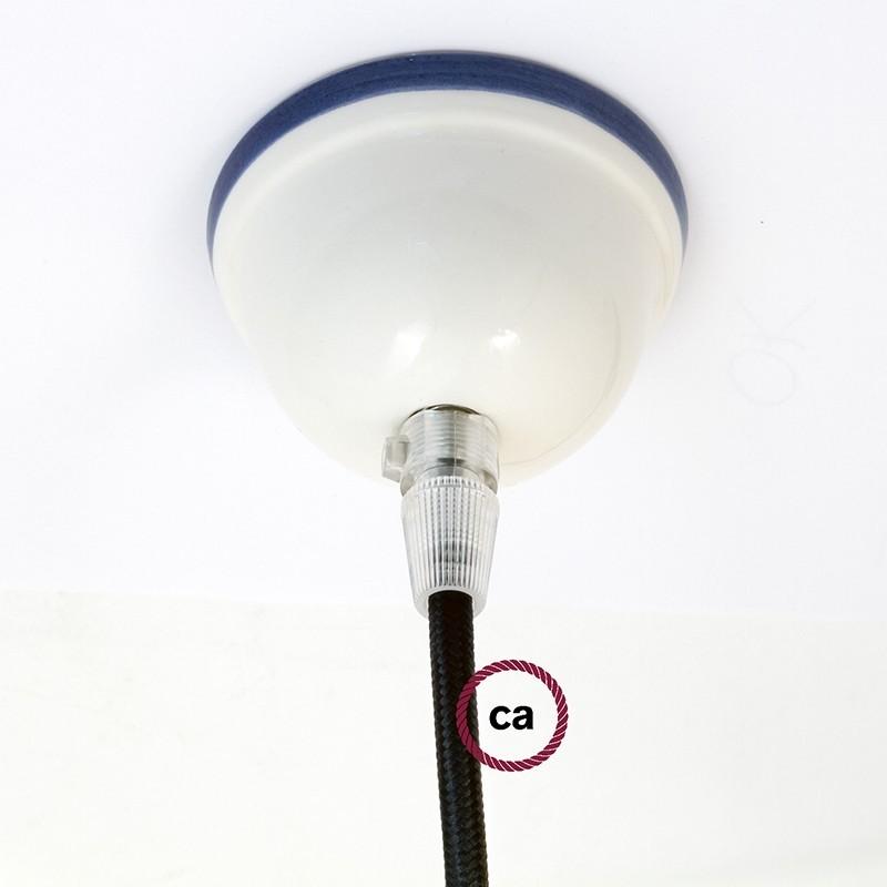 Ροζέτα Φωτιστικού Κεραμική Μικρή 7,5cm