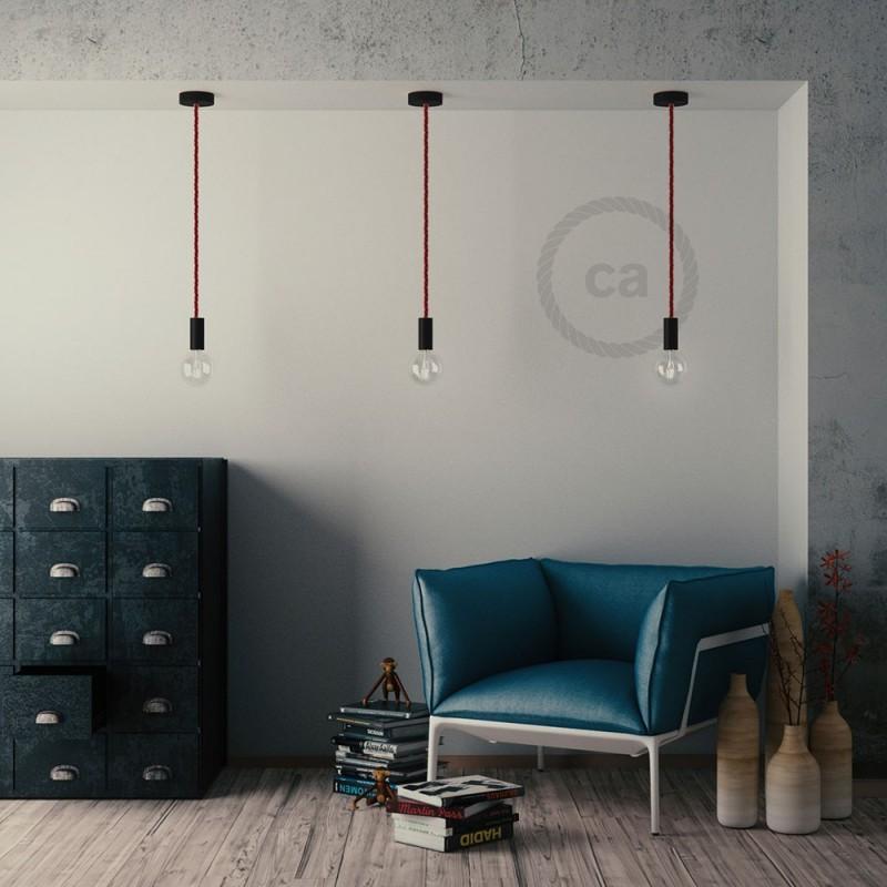 Ροζέτα Φωτιστικού Ξύλινη για Τριχιά XL Φ16mm