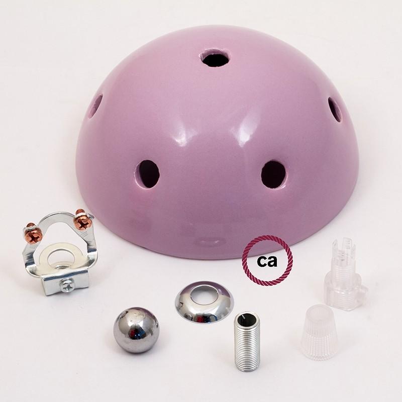 Ροζέτα Φωτιστικού Κεραμική με 7 τρύπες