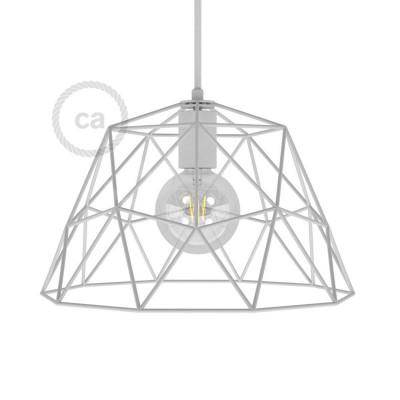 Dome XL Μεταλλικό Κλουβί με ντουί Ε27