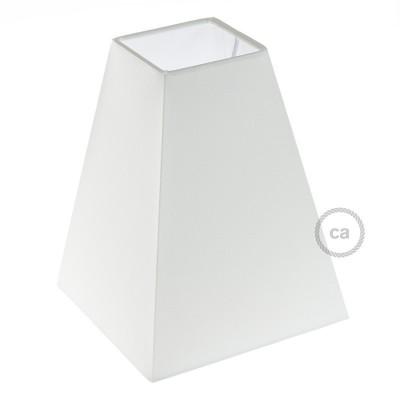 Αμπαζούρ Πυραμίδα E27, 16x16cm Η20cm, 100% Made in Italy