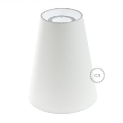 Αμπαζούρ Κωνικό Ε27, Ø16cm h20cm, 100% Made in Italy