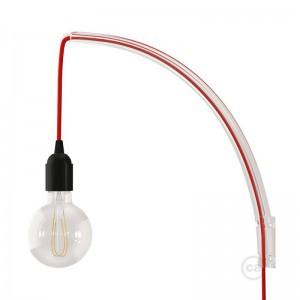 Archet(To), Διαφανής βάση τοίχου ιδανική για κρεμαστά φωτιστικά