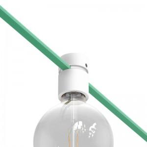 Ξύλινο Εξάρτημα Ντουι E27 Στρόγγυλο DIY για Καλώδιο Γιρλάντας - Σειρά Filé. Made in Italy
