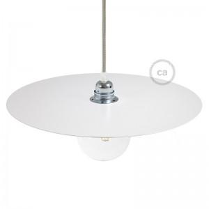 Ellepi Μεταλλικό Πιάτο για κρεμαστό φωτιστικό, Διάμετρος 40 cm, Made in Italy