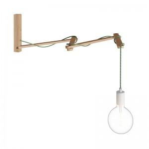 Pinocchio XL, Ξύλινη Βάση για τοίχο ιδανική για φωτιστικά