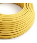 Στρόγγυλο Υφασμάτινο Καλώδιο RM10 - Κίτρινο