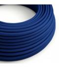 Στρόγγυλο Υφασμάτινο Καλώδιο RM12 - Μπλε
