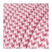 Στρόγγυλο Υφασμάτινο Καλώδιο RZ08 - Φούξια