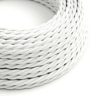 Στριφτό Υφασμάτινο Καλώδιο TM01 - Λευκό