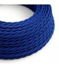 Στριφτό Υφασμάτινο Καλώδιο TM12 - Μπλε