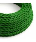 Στριφτό Υφασμάτινο Καλώδιο TM06 - Πράσινο