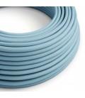 Στρόγγυλο Υφασμάτινο Καλώδιο RM17 - Απαλό Γαλάζιο