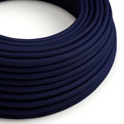 Στρόγγυλο Υφασμάτινο Καλώδιο RM20 - Πολύ Σκούρο Μπλε